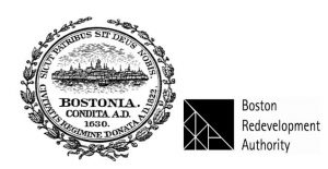 City of Boston- BRA Combined Logo