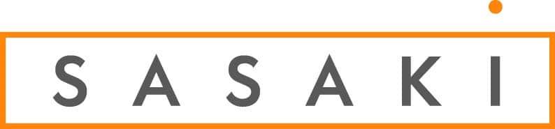 Sasaki Logo_Gray and Orange